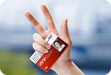 HVV-Card mit Schlüssel und Smartphone